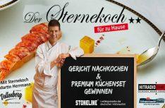 Radikale Resteverwertung: Sternekoch Martin Herrmann bietet Radio-Kochkurse an. (Foto: Funkhaus Ortenau)