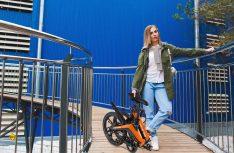 """Mit """"Fiene """" und """"Fiete"""" bringt Blaupunkt zwei stylische Falt-E-Bikes auf den Markt. (Foto: Blaupunkt)"""