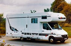 Der Carthago Mondial nach dem ersten Sprinter Facelift. (Foto: Carthago / MT-Archiv)