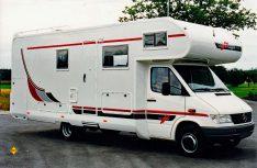 Der erste Carthago Alkoven auf Mercedes-Benz Sprinter: Der Mondial von 1995. (Foto: Carthago / MT-Archiv)