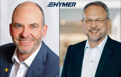 Seit Beginn des Monats ist Hans-Georg Rauh (links) als Technischer Geschäftsführer (Vice President of Operations) für die Hymer GmbH tätig. Sein Vorgönger Jochen Hain (rechts) übernimmt die technisches Geschäftfsführung von Hymer USA. (Foto: Hymer)