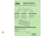 So sah das Titelbild des ersten Reimo-Katalogs von 1980 aus. (Scan: D.C.I.)