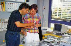 Die Männer der ersten Stunde: Kurt Manowski (links) und Günter Holona im Jahr 1993. (Foto: Reimo)