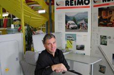 : Kurt Manowski ist seit 2000 für die Marke Adria im Hause Reimo verantwortlich. (Foto: det / D.C.I.)