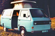 Sorgt für Stehhöhe im Küchenbereich: Das kleine Hochdach beim – noch luftgekühlten - VW Bus des Jahrgangs 1985. (Foto: Reimo)