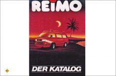 Fernweh inklusive: Das Titelbild des 1986er Katalogs, mit einem wunderbaren stilisierten Sonnenuntergang. (Foto: Reimo)