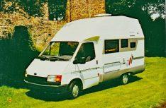 Schon 1987 kam Reimo mit einem formschönen Teilintegrierten auf der Basis des Transit auf den Markt.
