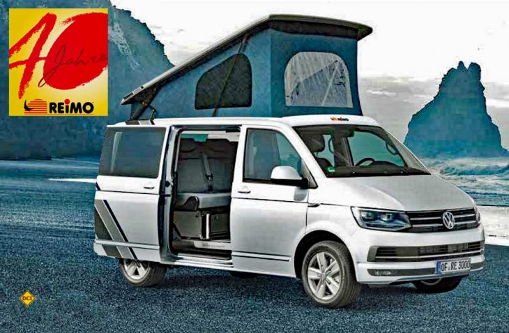 Anlässlich seines 40-jährigen Firmenjubiläums legt Reimo, der bekannte Hersteller von Reisemobilen und Anbieter für Campingzubehör, eine Sonderedition Edition 40 seines Campingbusses Avantgarde auf. (Foto: Reimo)