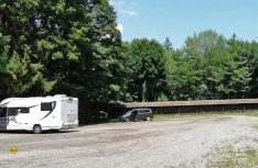 Bild 7: Auf diesem Areal entsteht der neue Stellplatz in Velden am Wörthersee. (Foto: Mein Rastplatz)