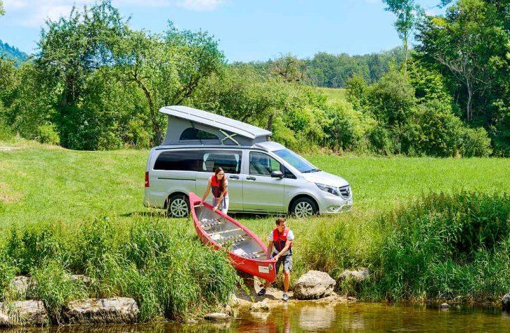 Caravaning verbindet Natur, Sport und Reisen. (Foto: CIVD)