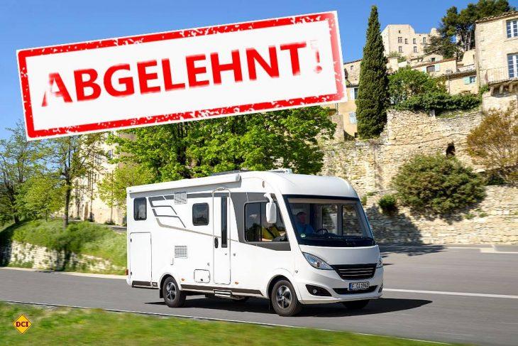 Verwaltungsgericht Oldenburg entscheidet: Gesundheit und Sicherheit geht vor Recht auf Urlaub mit dem Wohnmobil. (Foto: D.C.I. / CIVD)