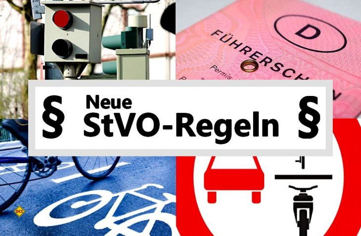 Mit der Novelle der StVO treten am 28. April 2020 eine Reihe von wichtigen neuen Verkehrsvorschriften in Kraft. (Foto: BMVI)