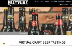 Die Stuttgarter Craft Beer Bar Kraftpaule bietet virtuelles Craftbeer Tasting an. (Foto: Kraftpaule)