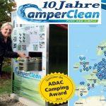 10 Jahre Toilettenhygiene im Caravaning – CamperClean feiert Jubliäum