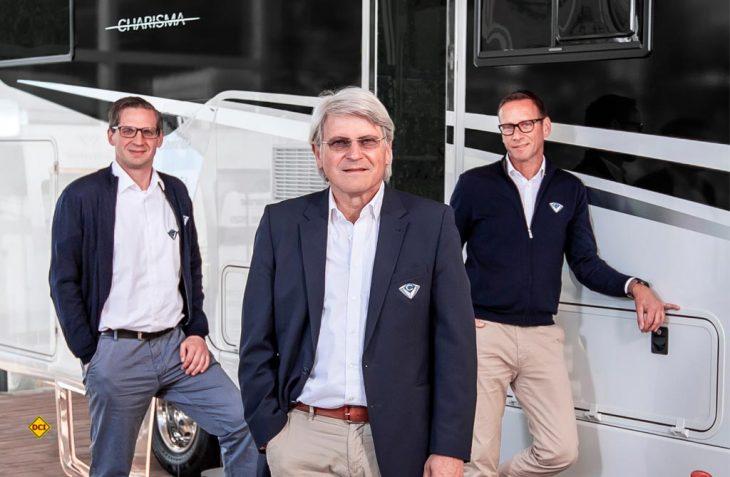 Michael Schmitt (Kaufmännischer Leiter), Joachim Baumgartner (Geschäftsführer), Markus Freitag (Leiter Vertrieb und Marketing) stehen für die Gesundheit von Kunden und Mitarbeitern ein. (Foto: Concorde)
