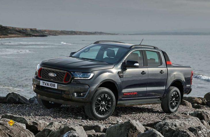 """Den erfolgreichen Pick Up Ford Ranger gibt es jetzt in der markanten Version """"Thunder"""". (Foto: Ford)"""