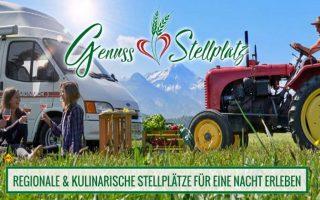Der innovative Reiseführer für Camper: Der Genuss-Stellplatzführer 2021 für Österreich steht in den Startlöchern. (Foto: GUT)