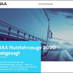 IAA Nutzfahrzeuge 2020 wird wegen Corona abgesagt