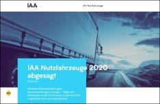 Die IAA Nutzfahrzeuge, die weltweit führende Plattform für Transport, Logistik und Mobilität in Hannover wurde wegen der Corona-Krise abgesagt. (Foto: IAA)