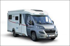 Schmal und kompakt: Der neue Cruiser Van V 634 G von LMC. (Foto: LMC)