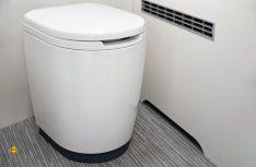 Die moderene Zerhacker-Toilette kann systembedingt frei von den Fahrzeugentwicklern platziert werden. (Foto: Thetford)