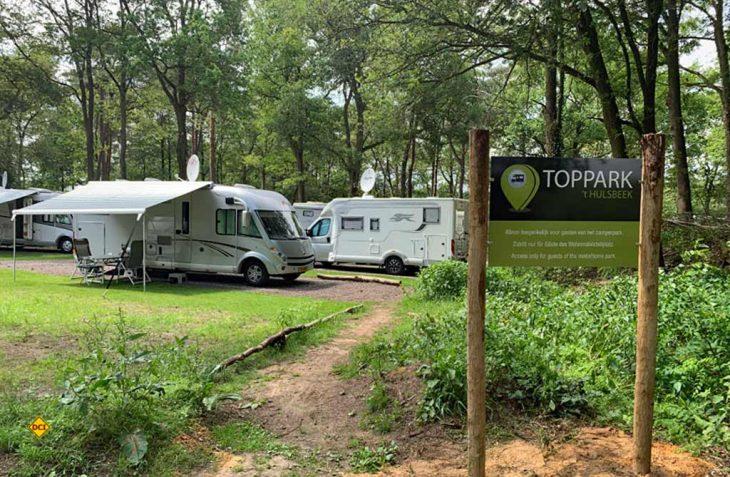 Es geht doch - Der Reisemobil-TopPlatz Oldenzaal in der niederländischen Region Twente hat unter Auflagen wieder geöffnet. (Foto: TopPlatz)
