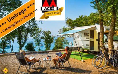 Der niederländische Camping-Spezialist und Reiseveranstalter ACSI hat über 10.000 Kunden nach ihrer Meinung gefragt. (Foto: ACSI)