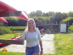 Der Campingplatz liegt direkt an der Kanuroute Julianadorp und die Familie Langelaan bietet auch einen Kanuverleih an. (Foto: tom/D.C.I.)