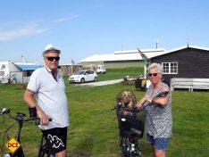 "Rita und Norbert fahren seit der Eröffnung 2018 auf den Campingplatz ""Camping Julianadorp aan Zee"". (Foto: tom/D.C.I.)"