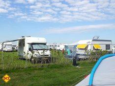 Gut besucht! Der Campingplatz bietet reichlich Platz für die Gäste! (Foto: tom/D.C.I.)