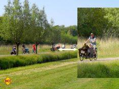 "Fahrrad fahren geht natürlich ganz besonders gut in Holland. Vom Campingplatz ""Camping Julianadorp aan Zee"" führen viele Wege ans nahe gelegene Meer. (Foto: tom/D.C.I.)"