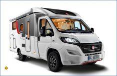 Der Bürstner Travel Van startet mit einem Facelift in die neue Camping-Saison. Sowohl das Exterieur als auch das Interieur wurden vom Hersteller umfassend überarbeitet. (Foto: Bürstner)