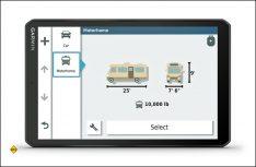Im Garmin lassen sich exakte Profile von Wohnmobilen und Caravan-Gespannen anlegen. (Foto: Garmin)