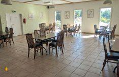 Gastronomie: Hier stehen normalerweise dreimal so viele Tische. (Foto: S. Blanz)