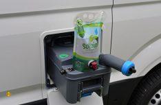 Der Sanitärzusatz Solbio ist ein 100 Prozent biologisches Produkt. (Foto: det / D.C.I.)