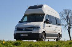 Typisch VW: Elegantes Außendesign mit hoher Qualitätsanmutung. (Foto: det / D.C.I.)