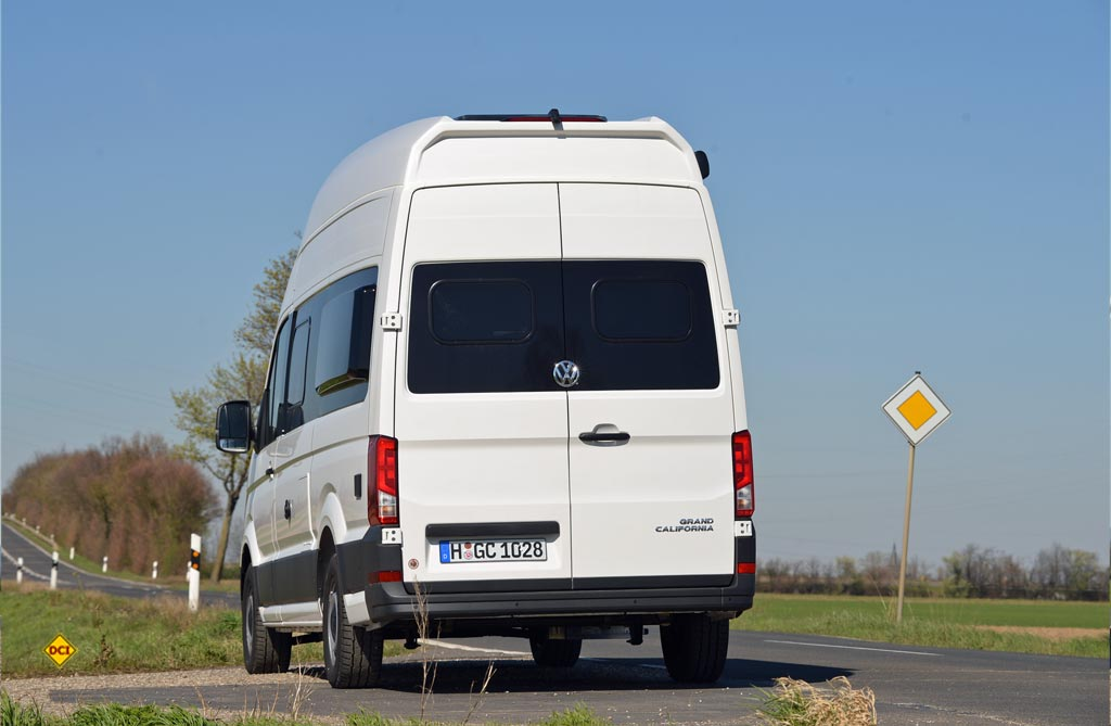 Praxis Test Reisemobil Vw Grand California 600 Das Grand Hotel Deutsches Caravaning Institut