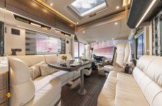 Luxus pur: Der neu gestaltete Wohnraum der Liner-Generation 2021. (Foto: Concorde)