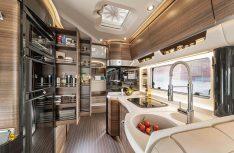 Da hätte selbst Paul Bocuse seine helle Freude gehabt: Die neue Liner-Küche. (Foto: Concorde)