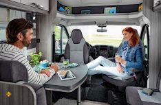 Die Teilintegrierten der Einsteiger-Baureihe Optima Ontour punkten mit einer All-inclusive-Ausstattung. (Foto: Hobby)
