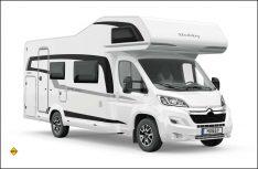 Drei neue familiengerechte Alkovenmobile erweitern die Optima Ontour-Baureihe. (Foto: Hobby)