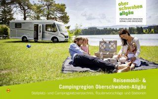 """Für Reisemobilisten: Die Broschüre """"Reisemobil- & Campingregion Oberschwaben-Allgäu"""" gibt einen kompakten Überblick über Stell- und Campingplätze, Routenvorschläge und Stationen. (Foto: Oberschwaben Tourismus)"""