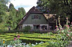 Der Kräutergarten des Bauernhof-Museums in Wolfegg. (Foto: Bauernhof-Museum Allgäu-Oberschwaben)