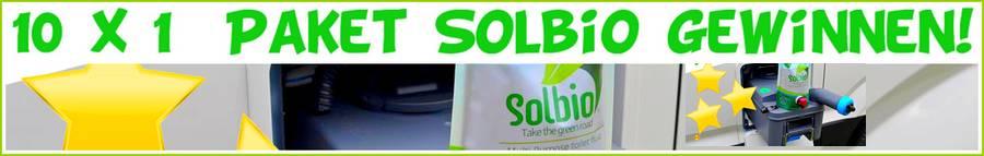 """Exklusiv für D.C.I.-Leser: Gemeinsam mit Solbio das """"Multi Purpose Toilet Fluid"""" gewinnen. (Montage: tom / D.C.I.)"""