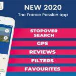 France Passion 2020 – Der Etappenführer Frankreich kommt auch als App