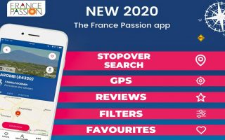 Für den beliebten Etappenführer France Passion gibt es jetzt eine ergänzende Smartphone-App. (Foto: France Passion)