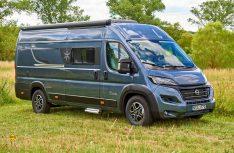 Karmann-Mobil erweitert die Davis Modell-Palette um eine Variante 630 mit riesigem variablem Stauraum für Motorrad- und Fahrrad-Transport im Heck. (Foto: Karmann)