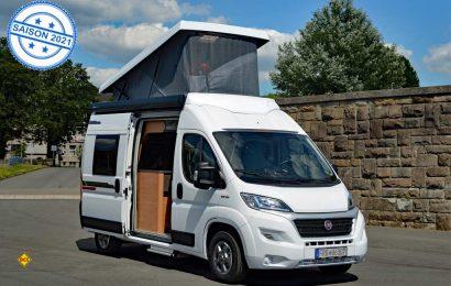 Weinsberg hat seinen Vans für die neue Saison ein super modernes Aufstelldach in stabiler LFI-Technologie als Option spendiert. (Foto: det / D.C.I.)