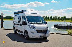 Für alle Weinsberg Vans mit L2H2, L4H2 und L5H2 Chassis wie der CaraBus gibt es für die neue Saison optional das schicke Aufstelldach. (Foto: det / D.C.I.)