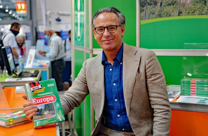 Die Krise gemeinsam meistern - Ramon van Reine ist Direktor von ACSI, einem der größten Camping-Spezialisten in Europa. (Foto: det / D.C.I.)